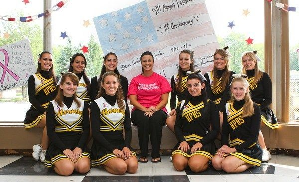Hornets cheerleaders raise funds, awareness