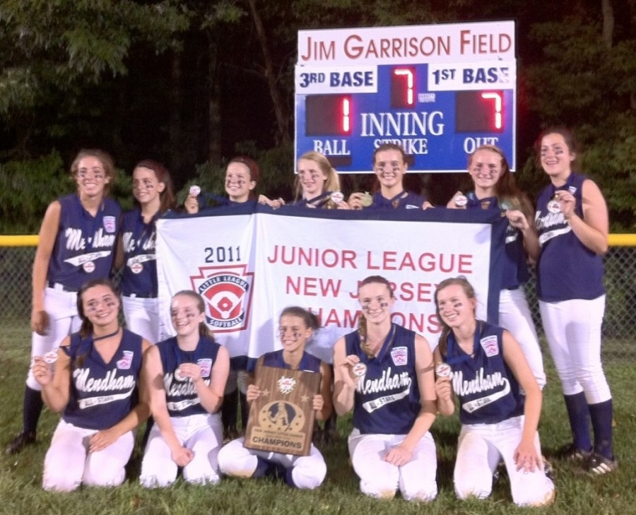 Delay not an issue as Mendham claims Little League state title