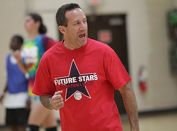 Mark Gnapp is pictured during a summer basketball camp at the Parsippany PAL.
