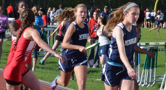Mendham won the girls and boys titles at the Morris County Relays title.