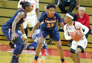 Huland El, Virginia dance into second round