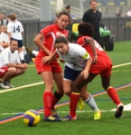 Pequannock engaged in a tight battle with Parsippany, eking out a 4-3 win.