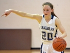 Randolph's Kiera Cesareo returned to action recently after recovering from a torn ACL.