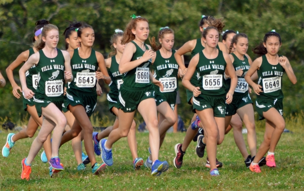 Villa Walsh took the NJAC Girls Small Schools title on Tuesday, Oct. 17 at Central Park.