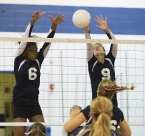 Aliyah Huland El, left, and Cora Bidlack are key players for third-seeded Randolph.