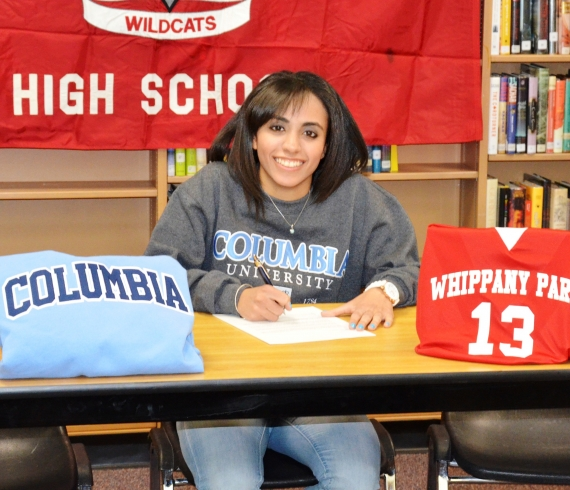 Dina Sheira of Whippany Park will attend Columbia University.