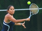 Mendham's Gabriella Coradini and her partner, Michelle Miller, won two matches at second doubles on Sunday.