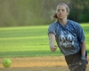 Kristen Lindquist tossed a one-hitter for Randolph on Friday, April 28. Lindquist struck out six.