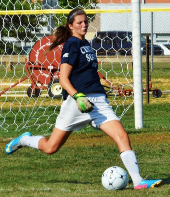 Ilissa Webb, above, had 13 shutouts for West Morris in 2013. In the slideshow, Morris Catholic and West Morris, possible MCT finalists, clashed in a late-summer scrimmage.
