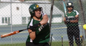 Emily Mulligan has hit nine home runs this season for Montville.