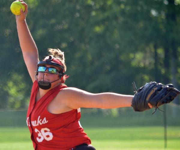 Caitlin Brennan struck out six in Parsippany's win over Indian Hills.