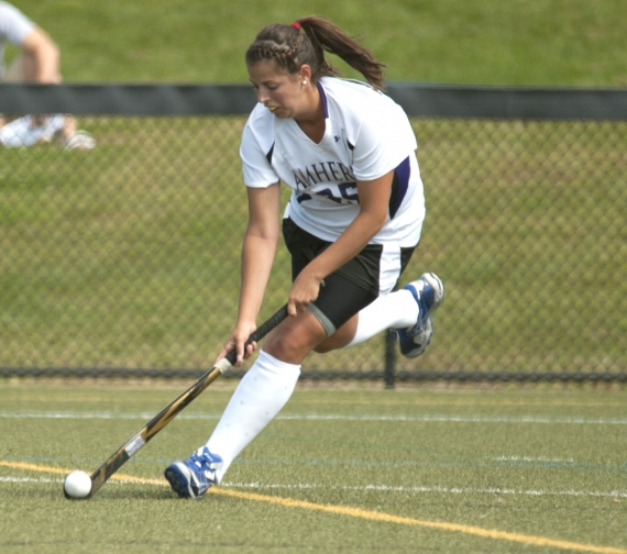 Kerri McMahon, a Morris Knolls High School graduate, is the career assists and points leader at Amherst College.