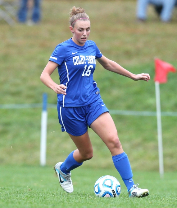Jefferson High School graduate Heather Faasse is a member of the Colby-Sawyer women's soccer team.