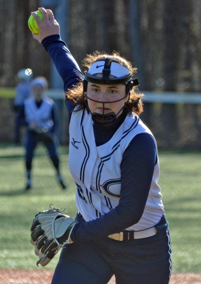 Anna Lengner scattered five hits when Chatham edged Jefferson, 3-2, on April 4.