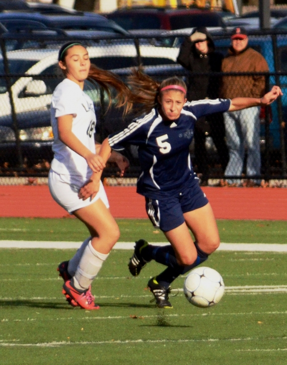 An early goal by Livingston stood up and the Rams lost in a sectional final.
