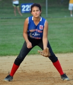 Jackie Rhoades had two hits when Morristown National opened the Section 1 Junior Tournament with a win over Ridgewood.