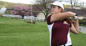 Carley Hopton finished first at the inaugural Morris County Girls Golf Tournament.