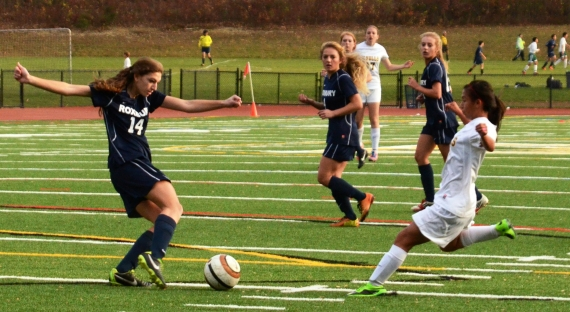 Morris Knolls and Roxbury clashed in regular-season play.