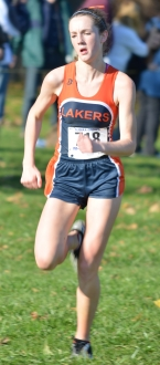 Freshman Jean-Marie Van der Merwe filled in for a sick teammate and helped Mountain Lakes to the Group I championship at Holmdel Park.