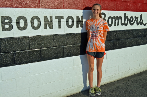Elli Joinson, a junior, was the first Boonton High School female cross country runner to qualify for the Meet of Champions in 30 years.