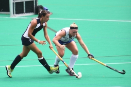 Randolph&#039;s Erica Borgo is playing field hockey at Yale University.