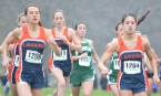 Colette Richter of Mountain Lakes, left, won the North Jersey Section 1, Group I race.