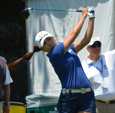 In-Kyung Kim of South Korea claimed her fifth LPGA tournament win at the 2017 ShopRite Classic.