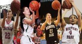 Four Morris County players took part in the North-South Game.
