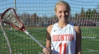 Meghan Mollahan is the first Boonton girls lacrosse player to score 100 goals.
