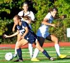 Julie Farina's overtime goal helped Mendham eke out a win over Morris Knolls.