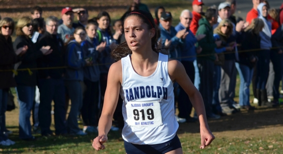 Randolph's Liz Lansing was first in Group IV at Holmdel Park.