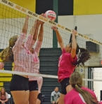 Morris Knolls and Randolph went all out at their Pink Game,
