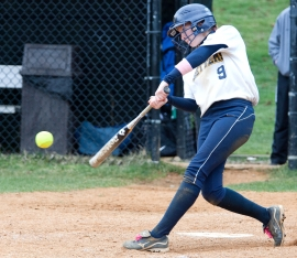 Former Morris Catholic star Jeane Drury has nine home runs for Pace University.