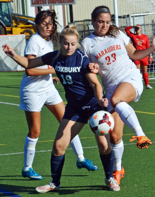 Mount Olive applied pressure but Roxbury still put in a dominant effort.