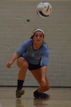 West Morris libero Danielle Olcese gets set to return.
