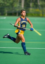Krista Romano, a defender for all of her career, played forward for Quinnipiac this fall.