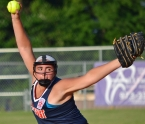 Caitlin Brennan pitched a three-hitter and knocked in three runs for Par-Troy East in Game 3 against Dover-Wharton.