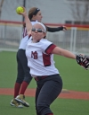 Morristown-Beard pitcher Katie Wright allowed four hits and struck out nine in a victory over Boonton.