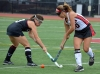 Boonton's Adrianna Dika, right, battles for control of the ball with Morristown-Beard's KellyTatulli.