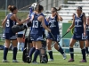 Chatham players celebrate a 2-0 win over Montville.