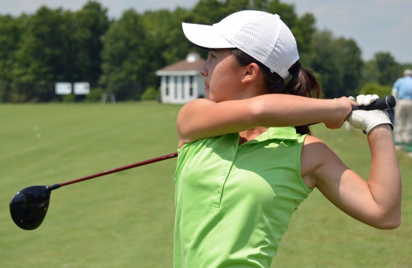 Jessica Barry of Chatham had a two-day score of 161 to finish tied for 14th at the NJSGA Girls Junior Championship.