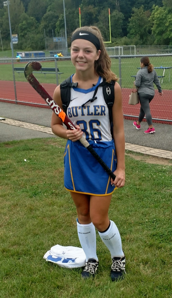 Meredith Fierro scored a goal off a penalty stroke to boost Butler over Pompton Lakes on Saturday, Sept. 14.