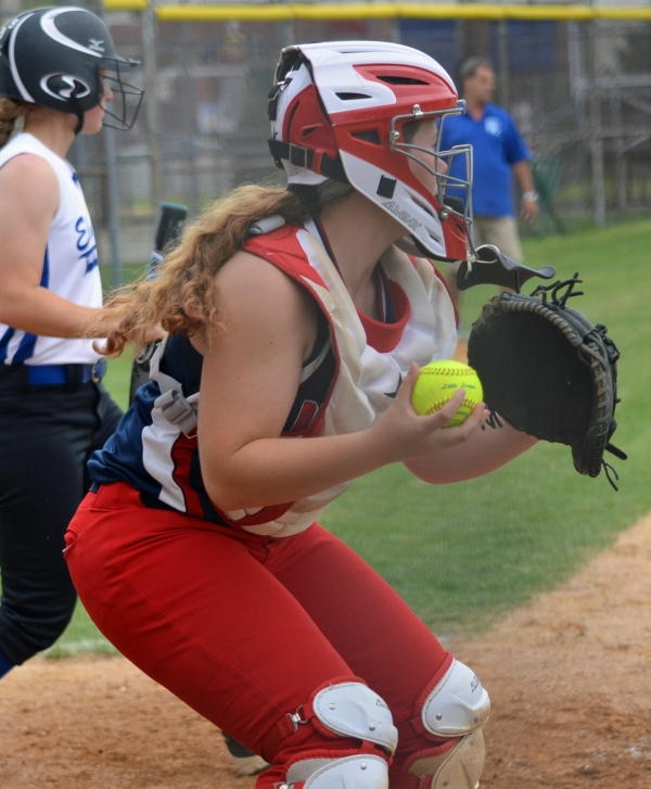 PTE catcher Elizabeth Quigley drove in two runs versus Bristol, Pa.