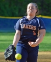 Katie Preston went the last two innings for Mountain Lakes when it played Boonton on Monday, May 14, 2018.