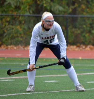 Julia Aasmaa has played every position but goalie for the Mountain Lakes field hockey team. On Tuesday, Nov. 1, she scored the game's lone goal, leading the Lakers past Belvidere in a sectional semifinal.