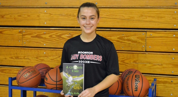 Emily Kelly, a two-sport athlete while at Boonton High School, wrote a book that was published during her senior year.