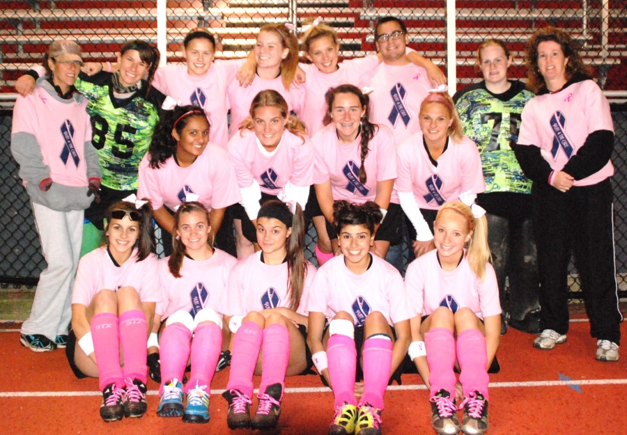 The Boonton field hockey team held a Play 4 The Cure Game on Monday, Oct. 24.