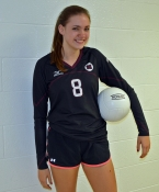 Morristown's Alli Remler recorded her 1,000 career assist on Monday, Oct. 12.