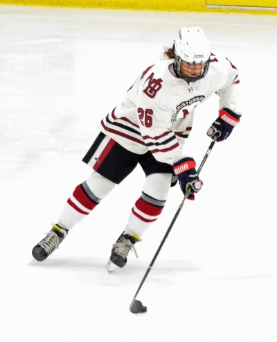 Logan Sutera scored twice for the Crimson in their state championship victory.