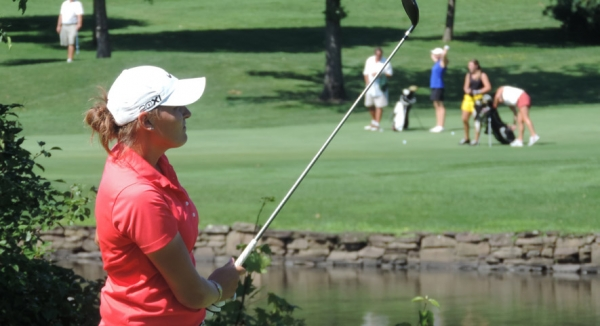 Joy Passalacqua was a semifinalist in the second flight at the NJSGA Women's Amateur Championship held at Brooklake Country Club.